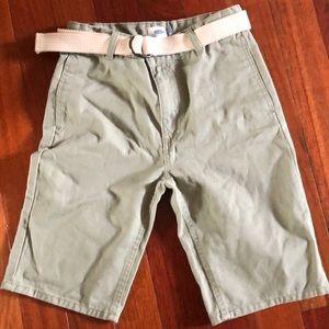 Boys Old Navy shorts with original belt
